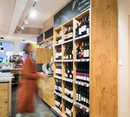 große Weinauswahl Bioqualität